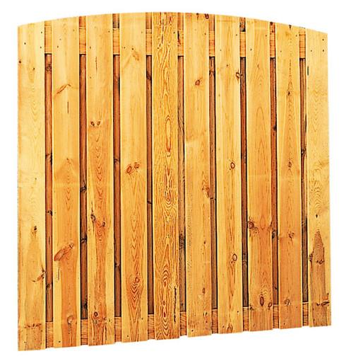 Grenen toogscherm 21-planks