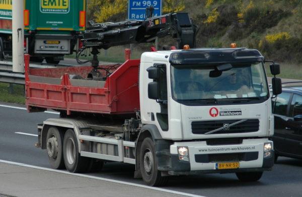 Tuincentrum werkhoven vrachtwagen