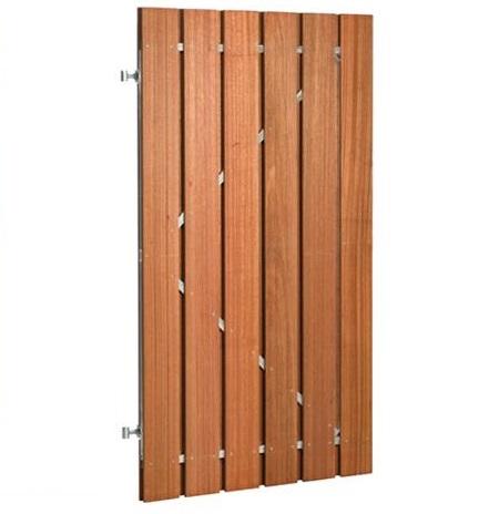 Hardhout plankendeur 100x180cm