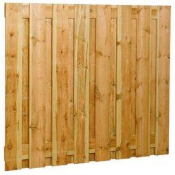 grenen plankencherm 17-planks