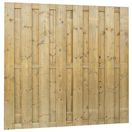 Jumboscherm 15-planks 180x200cm