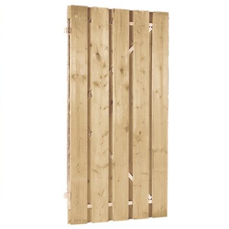 jumbo deurframe met planken