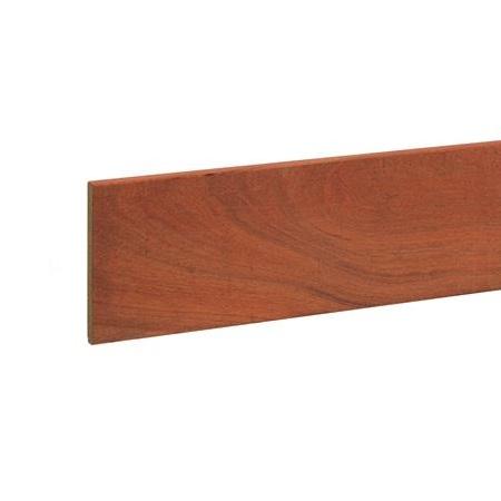 Hardhout beschoeiingsplank 2x20cm