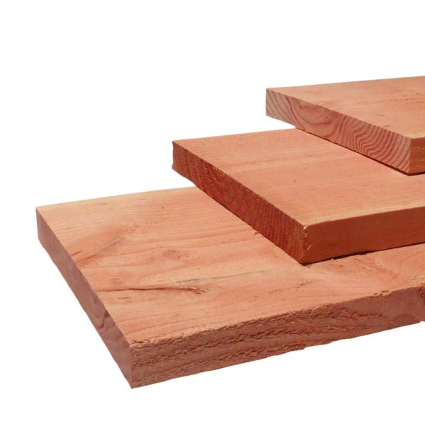 Douglas fijnbezaagde planken 1,9x19,5cm