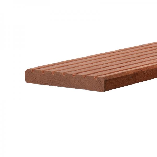 Hardhout vlonderplanken 2,5x14,5cm