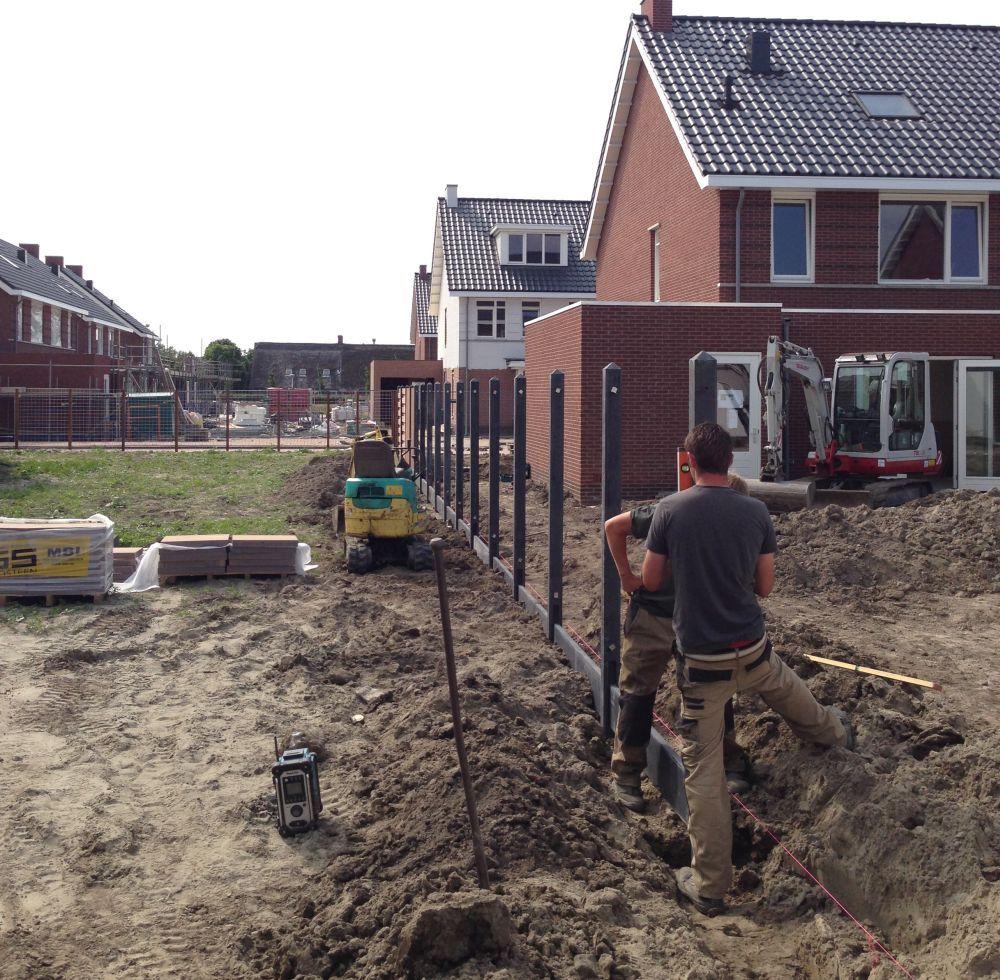 Tuinhout Utrecht schutting zetten