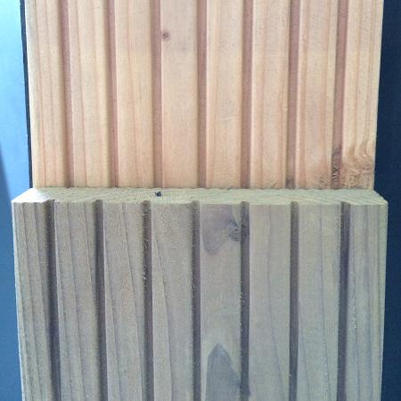 Douglas vlonderplanken 2,4x13,8cm