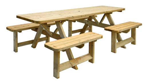Picknicktafel family 8 personen
