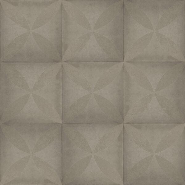 Optimum Decora Silver Rose 60x60x4cm