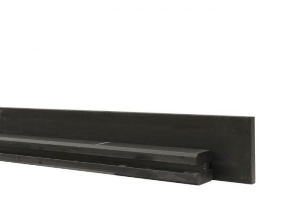 Betonpaal met sleuf 11,5x11,5cm ANTRACIET