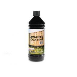 Betoncoating, zwart, in plastic fles 1 liter
