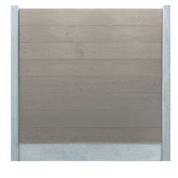 Zand steigerhouten schermsysteem 2,9 x 25 x 224 cm
