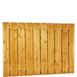 Grenen plankenscherm 21-planks 180x130cm