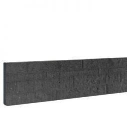 Betonplaten dubbelzijdig motief, antraciet zonder coating