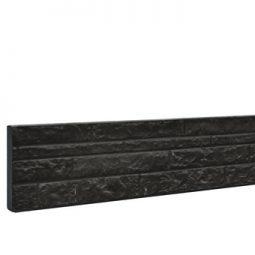 Betonplaten dubbelzijdig motief, antraciet met coating