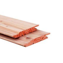Douglas (zweeds) rabat plank