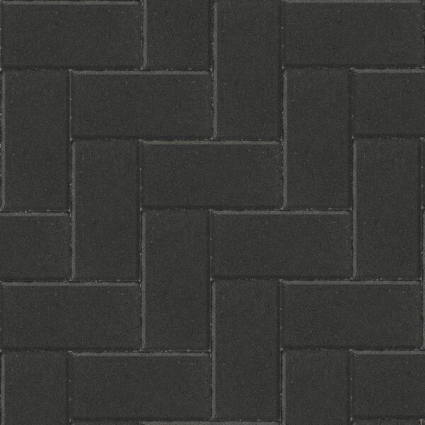 Betonklinkers Zwart 10,5x21x8cm