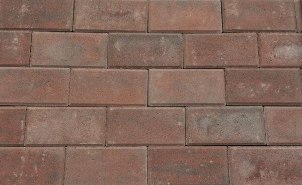 Betonklinkers Rood Genuanceerd 10,5x21x8cm